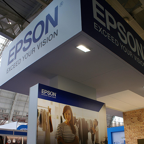 Epson - Retail Expo Event Graphics